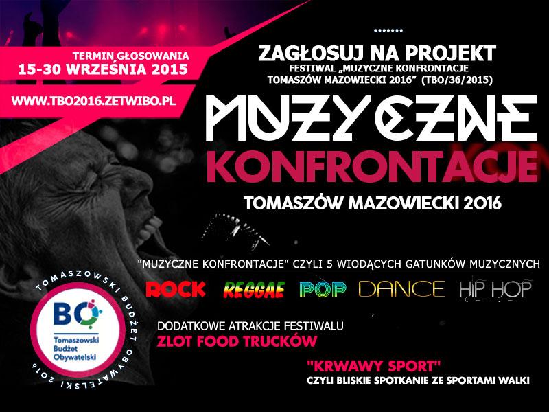 Muzyczne Konfrontacje Tomaszów Mazowiecki