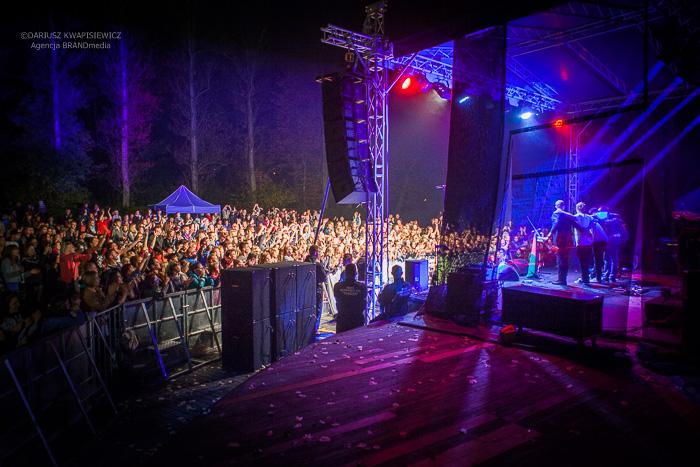 LemON na muszli koncertowej w Tomaszowie Mazowieckim