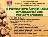 X Powiatowe Święto Ziemniaka w Brzustowie – Zapraszamy