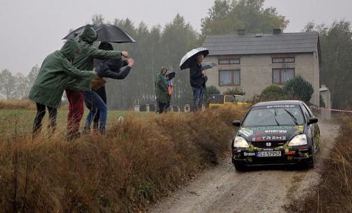 Rajd w Cielądzu na zakończenie pierwszego sezonu Rajdowych Samochodowych Mistrzostw Okręgu Łódzkiego