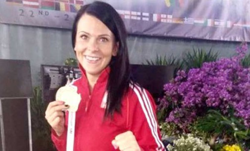 Tomaszowska policjantka – Marta Mysur mistrzynią Europy w Taekwon-Do