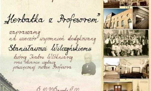 Herbatka z profesorem w MOK-u