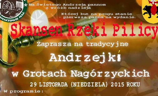 Na Andrzejki do grot