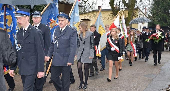 Obchody 97. Rocznicy Odzyskania Niepodległości w Inowłodzu