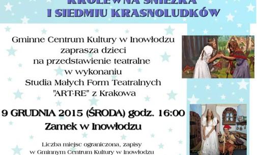 Królewna Śnieżka na zamku w Inowłodzu