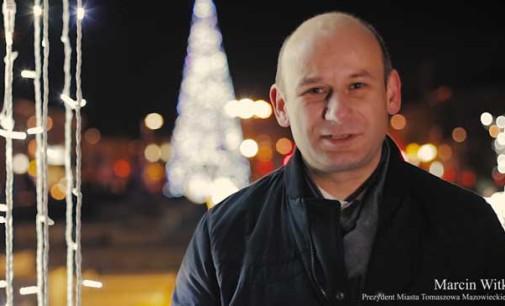 Życzenia świąteczne od Prezydenta Miasta – Marcina Witko