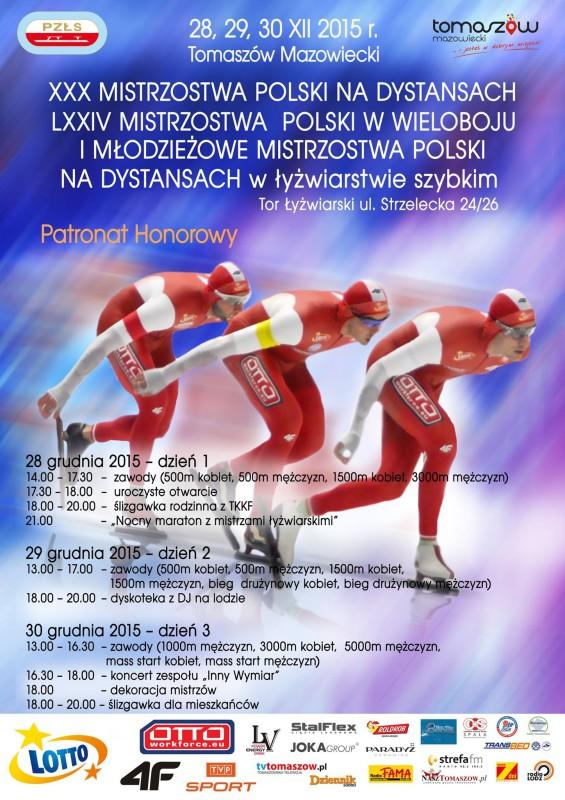 mistrzostwa polski w lyzwiarstwie