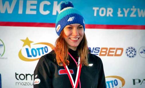 Dwa złote medale Oli Kapruziak na 500 i 1000 m. Bródka najszybszy na 1500 m