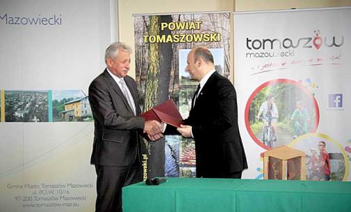 Ponad 18 mln zł na infrastrukturę drogową. Miasto podpisało porozumienie z powiatem
