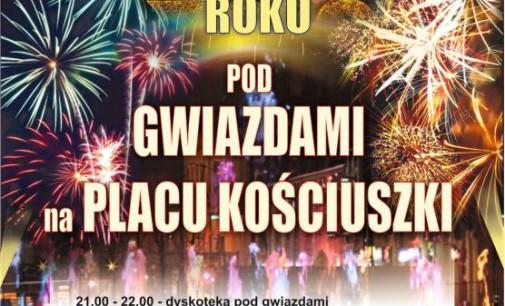 Powitamy Nowy Rok na pl. Kościuszki