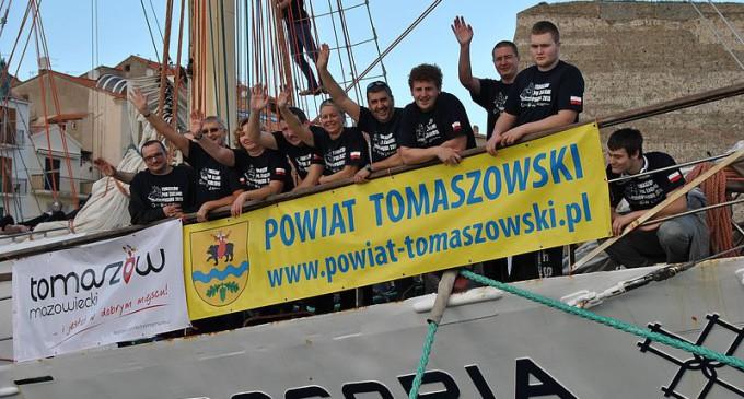 """""""Jejku, jejku, mówię Wam, jaki rejs za sobą mam…"""" Tomaszów pod żaglami Pogorii 2015"""