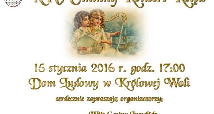 XIV Gminny Koncert Kolęd w Królowej Woli
