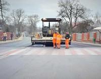 Ulica Radomska z nową nawierzchnią!
