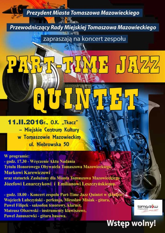 Plakat-Part-Time-Jazz-Quintet