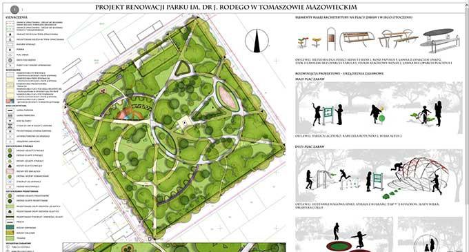 Zrewitalizują Park Rodego