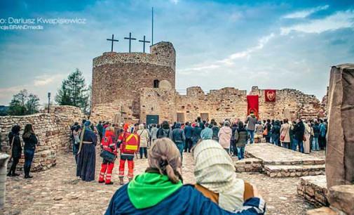 Droga do Jerozolimy. Wielkanocne widowisko na zamku w Inowłodzu