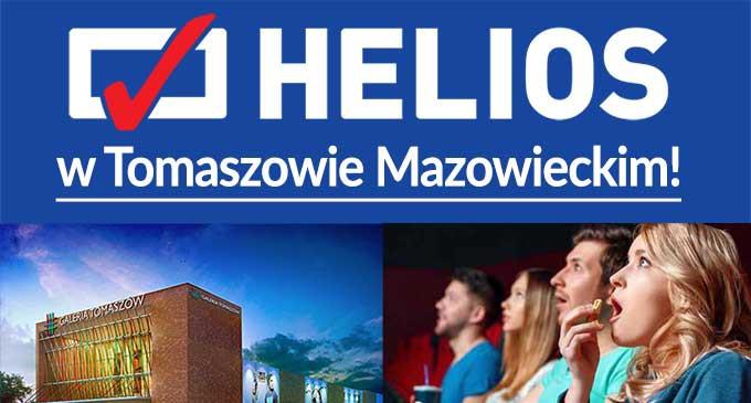 Wielkie otwarcie kina Helios w Tomaszowie Mazowieckim już w październiku!