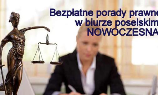 Bezpłatne porady prawne w biurze poselskim Katarzyny Lubnauer