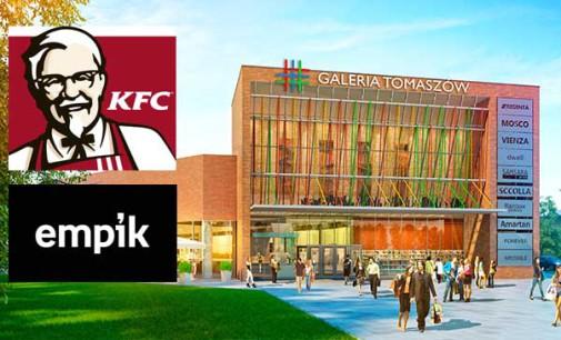 KFC i Empik w Galerii Tomaszów!
