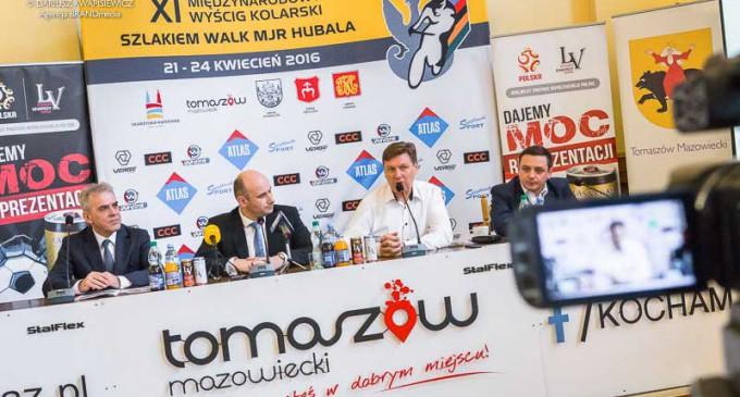 Międzynarodowy wyścig kolarski przejedzie ulicami Tomaszowa (WIDEO)