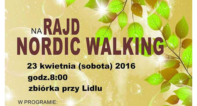 MOK zaprasza na Rajd Nordic Walking