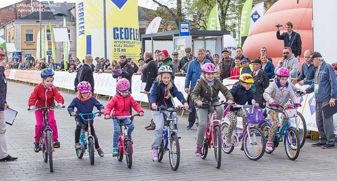 Wyścig Szlakiem Hubala – Zawody kolarskie dla dzieci (ZDJĘCIA, WYNIKI)