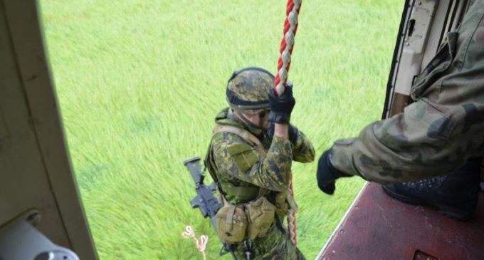 Polsko-kanadyjskie szkolenie taktyczne