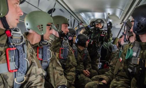 25. Brygada. Kurs na spadochrony tunelowe, poziom drugi