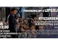 Nowoczesna zaprasza na spotkanie z Ryszardem Petru w Łodzi