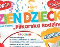 """""""Piłkarska Rodzina"""" czyli Dzień Dziecka na pl. Kościuszki!"""
