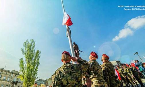 Program uroczystości majowych w Tomaszowie
