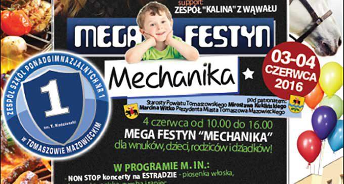 Zbliża się Mega Festyn Mechanika