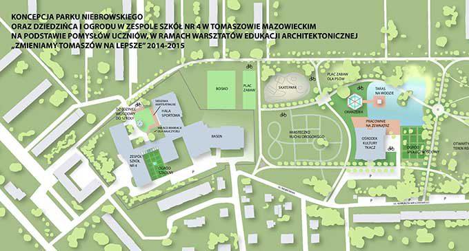 Włącz się w projektowanie Parku Niebrowskiego