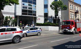 Seria alarmów bombowych w Tomaszowie Mazowieckim