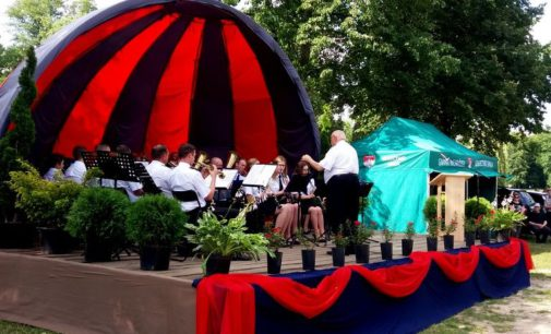 XII Koncert Strażackich Orkiestr Dętych w Spale