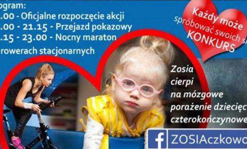 Ty też możesz pomóc małej Zosi Rumińskiej! Przyjdź w sobotę na charytatywny maraton w centrum miasta