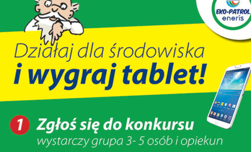 Eko-patrole ENERIS ruszają w Tomaszowie Mazowieckim
