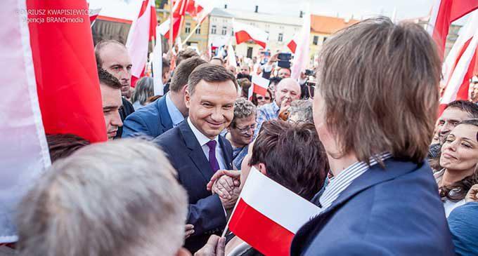 Prezydent i Pierwsza Dama RP w Tomaszowie