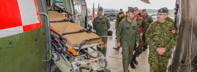 Wizyta Dowódcy Wojsk Lądowych Kanady w 25BKPow.