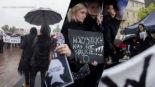 """""""Czarny Protest"""" w Tomaszowie (ZDJĘCIA i WIDEO)"""