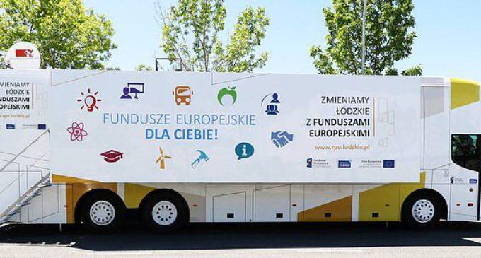 Mobilne Centrum Informacji na temat funduszy europejskich ponownie w Tomaszowie Mazowieckim