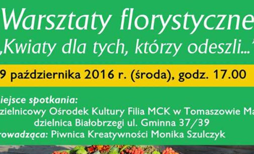 Warsztaty florystyczne w DOK-u