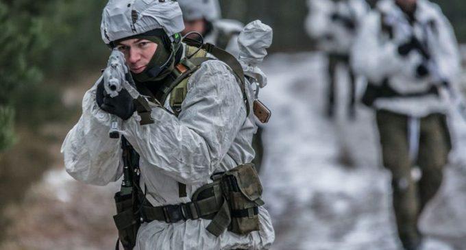 Zimowe szkolenie poligonowe 25bdow.
