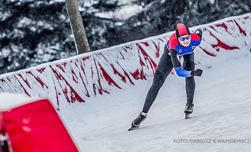 Medale tomaszowian na Mistrzostwach Polski w Łyżwiarstwie Szybkim. Złoto dla Karoliny Bosiek