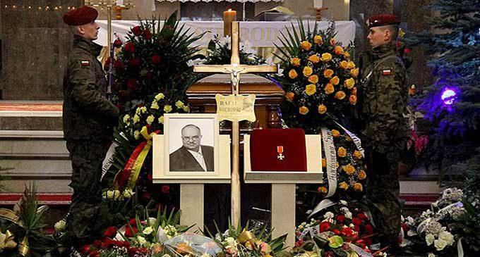 Ostatnie pożegnanie posła Rafała Wójcikowskiego