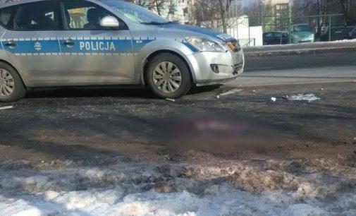 Radiowóz potrącił 66 letnią kobietę