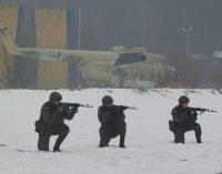 Szkolenie żołnierzy Narodowych Sił Rezerwowych w 7.bkpow.