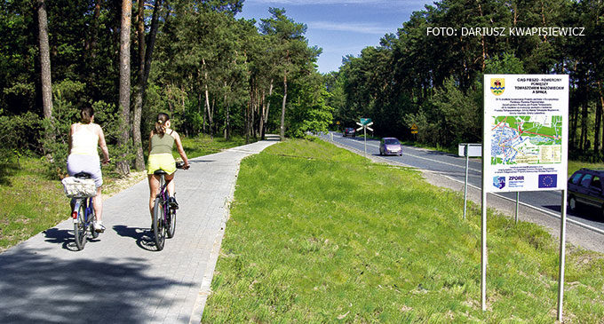 Powstanie ścieżka pieszo rowerowa ze Spały do Inowłodza