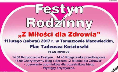 Walentynkowy Festyn Rodzinny w sobotę na pl. Kościuszki