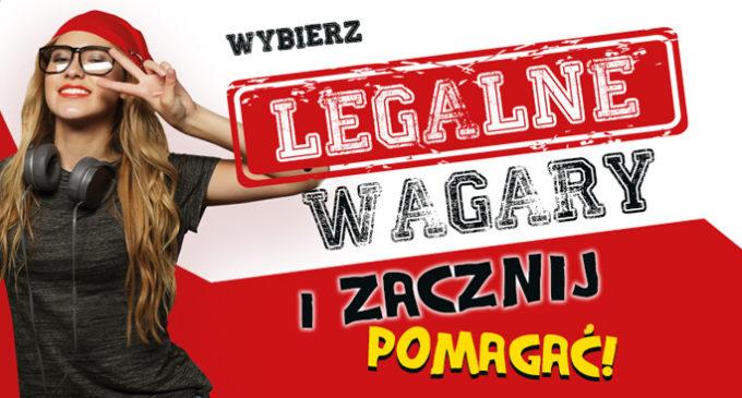 """Wybierz """"Legalne Wagary"""""""